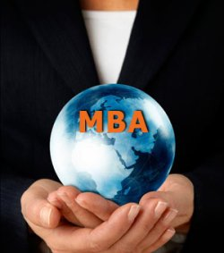 What's the requirement to get in M.B.A?